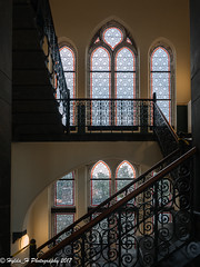 Halls of Academia (Hylda_H) Tags: university leiden netherlands stairs explore
