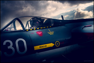 Hawker Hunter cockpit (Explored)