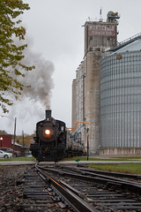 Paying the Bills (Jake Branson) Tags: train railroad steam locomotive engine southern railway 401 sou monticello museum il illinois fall autumn