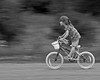 """"""" FEARLESS """" (Hans J Fischer) Tags: child children racing speed playing girls girl sports games fearless daring brave monochrome panning bicycle action motion winners leaders dramatic daredevil"""