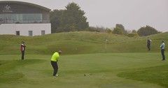 David Sleat's long chip and run would leave a testing ten footer (Neville Wootton Photography) Tags: andrewdoidge cameronkenworthy clubchampionships daffydhollyman davidsleat golfsectionmens stmelliongolfclub saintmellion england unitedkingdom