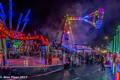 Look at the rides (PapaPiper) Tags: chippingsodbury mopfair 2017 southgloucestershire village nightscape night unitedkingdom england rides funfair