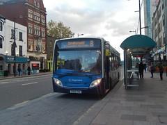 YX63 ZUC (Jacquack) Tags: stagecoach south wales cymru 37027 adl alexander dennis limited e20d dart enviro 200 e200 cardiff st marys street b caerphilly senghenydd
