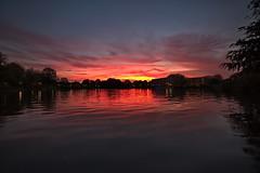 14 mm Urban Sunset (uwe1904) Tags: cityfotos deutschland himmel landschaft marl pentaxk1 ruhrpott sonnenuntergang stadtlandschaft uwerudowitz wolken nrw d