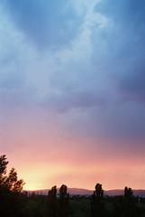 Pinky skies over Bratislava (Misiska) Tags: sunset bratislava colours colors pink sky pinkie analog shootfilm shotonfilm sigma shootanalog summer sun clouds nikon nikonf100 nature film f100 filmshooters filmisnotdead kodak kodakportra400 portra400 pocitovka portra carmencitafilmlab scan skies skyporn