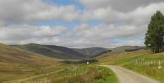 Old Craig, Glen Prosen, Angus, Sep 2017 (allanmaciver) Tags: glen prosen angus scotland old craig rural remote countryside track hills scenery trees shadows shades moor grouse allanmaciver