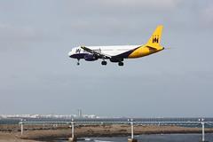 Monarch G-OZBI (The Scaffie) Tags: a320214 airbus monarch airport lanzarote aircraft gozbi