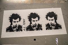 A.L. Tony : Sid Vicious (dprezat) Tags: altony sid vicious sexpistols punk paris street art graf tag pochoir stencil peinture aérosol bombe painting urban nikond800 nikon d800 streetart