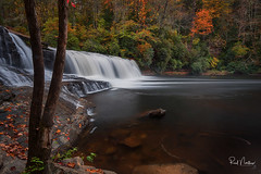 Hooker Falls - DuPont State Forest - Brevard, NC (Reid Northrup) Tags: water river stream rock rocks landscape waterfall tree trees forest rrs reidnorthrup nature longexposure hooker falls hookerfalls nikon northcarolina dupontstateforest autumn leaves