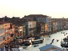 The Grand Canal seen from Fondaco dei Tedeschi, Venice