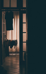 Nobody home. (Saâd Jebbour) Tags: home dark alone nobodyhome riodejaneiro avenidapradojunior brasil summer 2017 vertical nikon 50mm vsco clothes pinkfloyd saadjebbourcom saadjebbour