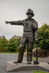 DSC_6746 (Copy) (pandjt) Tags: ottawa ontario walkabout lebretonflats sculpture publicart douglascoupland canadianfirefightersmemorial firefightersmemorial memorial