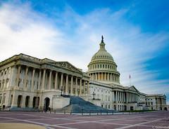 US Capitol (charlie_guttendorf) Tags: capitolbuilding capitoldome guttendorf nps nationalparkservice nikon nikon18200mm nikond7000 uscapitol uscapitolbuilding usflag washington washingtondc