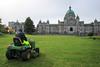 IMG_1599 (TMM Cotter) Tags: victoria bc legislature parliament provincial government buildings lawn mower maintenance gardening johndeere