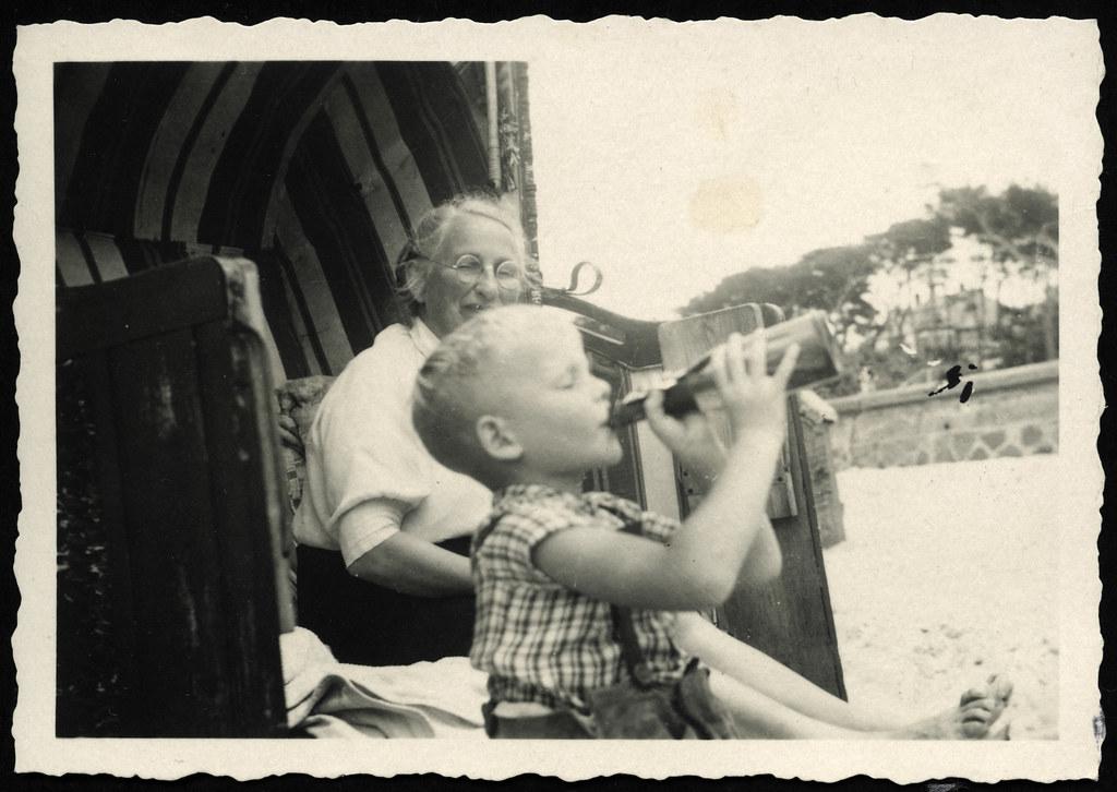 Oma vs junge Bilder