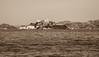 The Rock (Jill Clardy) Tags: california fleetweek northamerica sf sanfrancisco usnavy usa ussessex ships alcatraz island federal prison therock sepia grain 201710094b4a5582 explore explored