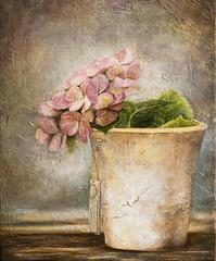 Óleo sobre lienzo (marian ortega) Tags: óleo lienzo texturas bodegón fleurs flores arte pintura flower stilllife textured