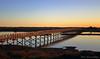 Wooden Bridge to the Beach (Wipeout Dave) Tags: bridge portugal thealgarve quintadolago parquenaturalderiaformosa riaformosa coast sunset davidsnowdonphotography canoneos80d landscape dusk