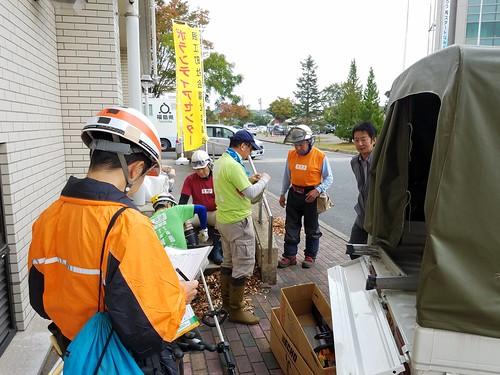 福島県浪江町でボランティア(援人 2017年 1027便)