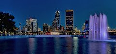 City of Jacksonville, Duval County, Florida, USA (Jorge Marco Molina) Tags: jacksonville duvalcounty florida historical city cityscape urban downtown skyline centralflorida centralbusinessdistrict skyscraper building architecture commercialproperty cosmopolitan metro metropolitan metropolis sunshinestate realestate friendshipfountain mainstreetbridge stjohnsriver bluehour