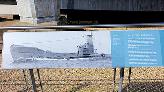 HMS Alliance at the Submarine Museum in Haslar road, September 2017, part of the Portsmouth Historic Dockyard but across the water in Gosport, Hampshire, England.