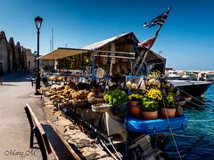 Kreta Chania Hafen (mariomüller1) Tags: kreta creta griechenland landschaft landscap natur hafen mittelmeer schiffe
