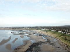 Sand flats & Rock pools (Screwdriver32,more off than on :-() Tags: screwdriver32 screwy32 scotland southayrshire sea ayrshire ayr ayrshirecoast ayrshore santa drone djimavic dji uav landscape beach flying dunes rockpools