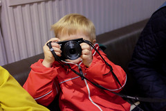 Arthur the Photographer (timnutt) Tags: hall child sudbury people museum house derbyshire photographer camera children manor uk childhood