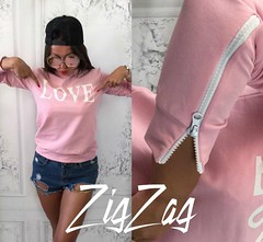 Женский свитшот LOVE нежно-розового цвета (arrkareeta) Tags: