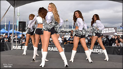 2017 Oakland Raiderettes @ Raiderville (billypoonphotos) Tags: 2017 oakland raiders raiderettes raiderette raider nation raidernation nfl football fabulous females cheerleaders cheerleading dance dancer dancers nikon nikkor d5500 mm lens billypoon billypoonphotos silver black photo picture photographer photography pretty girls ladies women squad team people coliseum sport raiderville 18140 18140mm chiefs kansas city illora catherine noelle