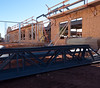 Construction of Riverview Manor in Montague (Government of Prince Edward Island) Tags: riverview manor seniors communitycare longtermcare montague construction trades lumber steel truss timbers