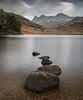 Blea Tarn (Stuart.67) Tags: lake district bleatarn nikon d800 water rocks mountains longexposure england