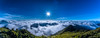 合歡山主峰雲海sea of clouds (lwj54168) Tags: 合歡山 主峰 雲海 sea clouds acacia hil taiwan panorama 全景 d750 nikon 1635mmf4 afs f4 台灣 1635mm 夜 黑卡
