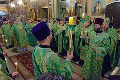 Вечерняя молитва накануне именин Правящего архиерея_17_ 02,11,2017