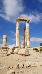 JORDANIA (Grace R.C.) Tags: jordania amman ruinas ruins columnas column antigüedad