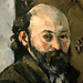 CEZANNE,1880-81 - Autoportrait au Papier Peint olivâtre (Londres) - Detail 14