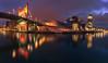 Bilbo's night (sgsierra) Tags: bilbao bilbo puente bridge guggenheim iberdrola torre tower ria euskadi