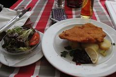 Lunch at Hallstatt Austria (adrienne_bartl) Tags: austria hallstatt salzkammergut food