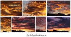 Le ciel du 7/10/2017 à Auxerre (jjcordier) Tags: auxerre bourgogne nuage