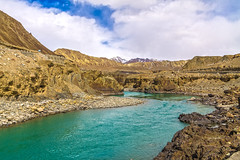 A river (Mijan Rashid) Tags: india landscape ladakh leh land river mountain mountains water waterscape asia asian tamron tamron18270mm travel kashmir jammukashmir jammu green blue sky southasia sunnyday canon canon1100d clouds cloud canon1100 travelphotography photography himalayas himalaya march2017 midday nature outdoor rocks tamron18270 1100d 18270mm
