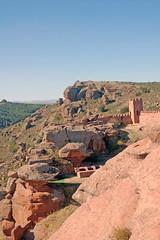 DSC_0843 (cervmay) Tags: castillo peracense teruel muralla roca