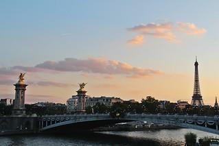 Pont Alexandre III # 9 Dusk