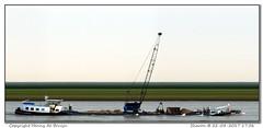 Sharon (Morthole) Tags: slitscan ship boat schip boot barge binnenvaart schiff rheinschiff sharon bulk vrachtschip schã¼ttgutfrachter