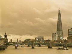 Storm Ophelia skies over London (Paul Dykes) Tags: hurricaneophelia uk london england yellowsky storm hurricane iphone ophelia