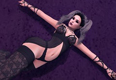 The Demon's Heart (Cryssie Carver) Tags: secondlife second life sl avatar cosmopolitan theepiphany the epiphany blueberry theforge forge vilecult vile cult league ama besom suicidalunborn suicidal unborn catwa maitreya corpus