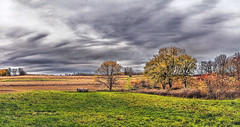 IMG_6621-22Ptzl1scTBbLGER3 (ultravivid imaging) Tags: ultravividimaging ultra vivid imaging ultravivid colorful canon canon5dmk2 clouds fields farm path scenic rural vista evening autumn fall pennsylvania pa sky landscape lateafternoon autumncolors trees twilight sunsetclouds stormclouds panoramic painterly