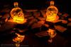 Happy Halloween! (OscarAmos) Tags: hdr 50mm availablelight texas tonemapped detailenhancer reflection photomatix oscaramosphotography topazadjust austin flickrfriday orangedecorations