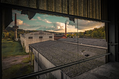 Abandoned factory (Thos A.) Tags: urbex factory ruin bourgogne burgundy nièvre canon eos eos80d panorama abandoned urban