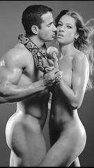 Nudeart (Ignacio_Echenique2012) Tags: eva adan body art abs cool beauty love fit fitness wind nude nudeart sexy bn bnw hot guy boy girl muscle