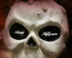 Macro Mondays: Halloween (Körnchen59) Tags: macromondays thema halloween geist ghost schädel sony körnchen59 elke körner